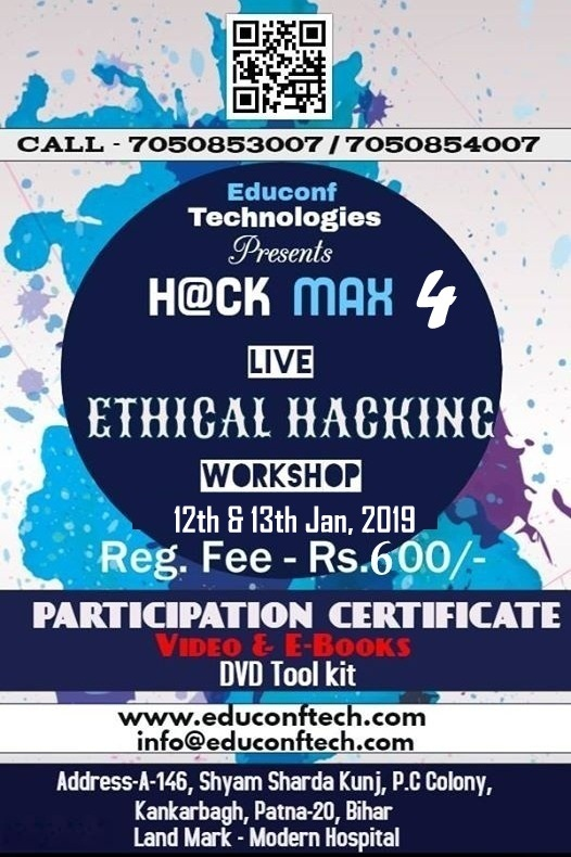 workshop for ethical hacking