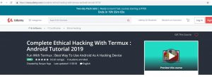 termux tutorial ranjan raja udemy