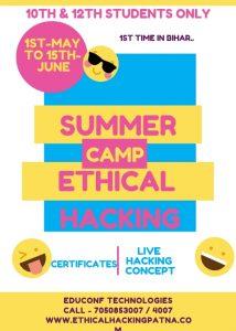 summer camp in patna